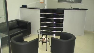 ресепшен стоматологического центра Базель